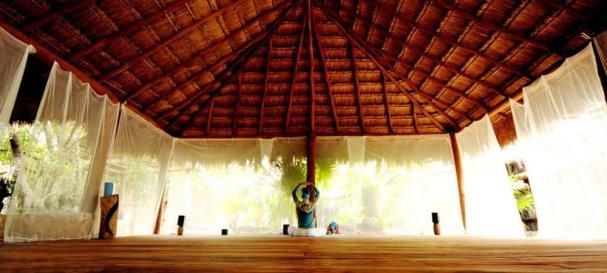 yoga room tulum